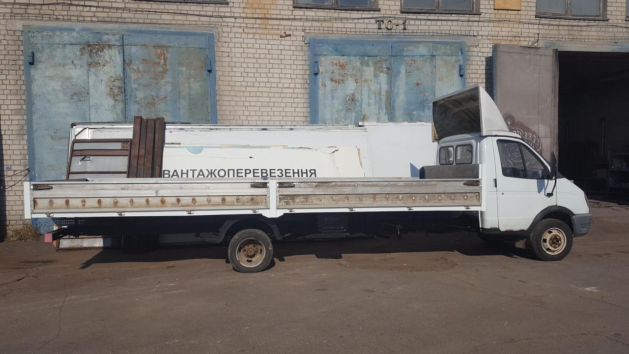 Удлинение ГАЗ - 3302, ГАЗ - 33023