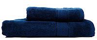 Махровое полотенце для рук и лица 50х90 BLUE GLANCE Узбекистан