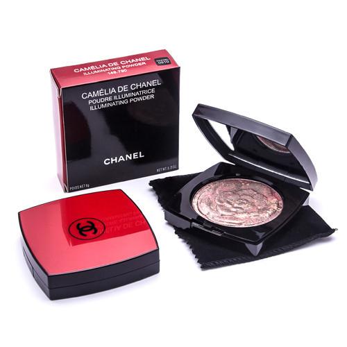 Иллюминайзер Chanel Camelia De Chanel, Румяна запеченные, Румяна, Хайлайтер (Палитра В)