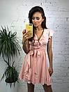 Платье летнее на запах с оборками 34plt1710, фото 2