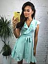 Платье летнее на запах с оборками 34plt1710, фото 3