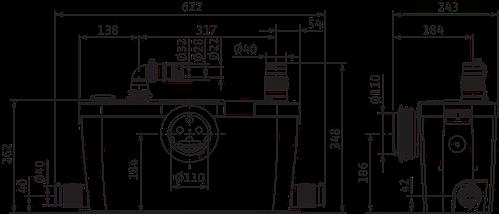 Канализационная установка Wilo HiSewlift 3-35, фото 2