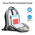 "Рюкзак для ноутбука Promate Explorer 13.3"" Grey , фото 2"