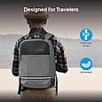 "Рюкзак для ноутбука Promate Explorer 13.3"" Grey , фото 4"