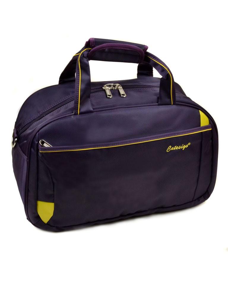 8c47b39b0c01 Дорожная сумка Catesigo Bag 22806-20 саквояж с плечевым ремнем средний  размер 50 см х
