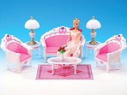 """Мебель """"Gloria"""" для гостинной,диван, 2 кресла,столик."""