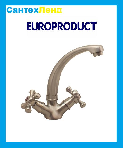 Смеситель Smes 272 Нержавейка Euro Product