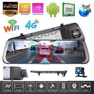 "Junsun A930 Зеркало -GPS навигатор 10"" 4g регистратор Full HD  Android 5,1"