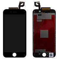 Дисплей для iPhone 6S, модуль в сборе (экран и сенсор), с рамкой, черный, оригинал 100%