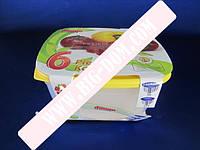 Судки квадратные глубокие Набор лотков Дуня 300791 лотки контейнеры пищевые 6 штук