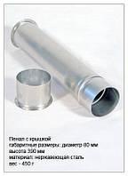Пенал предназначен для стерилизации стеклянных пипеток.