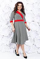 Женское платье миди 50-56 р