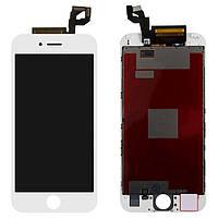 Дисплей для iPhone 6S, модуль в сборе (экран и сенсор), с рамкой, белый, оригинал 100%