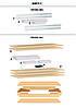 Стеллаж полочный МКП, оцинкованный, на зацепах (1800х1400х500), ДСП, 4 полки, 400 кг/полка, фото 3
