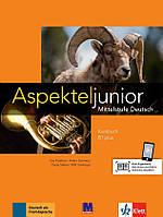 Aspekte junior. Mittelstufe Deutsch. Kursbuch B1 plus