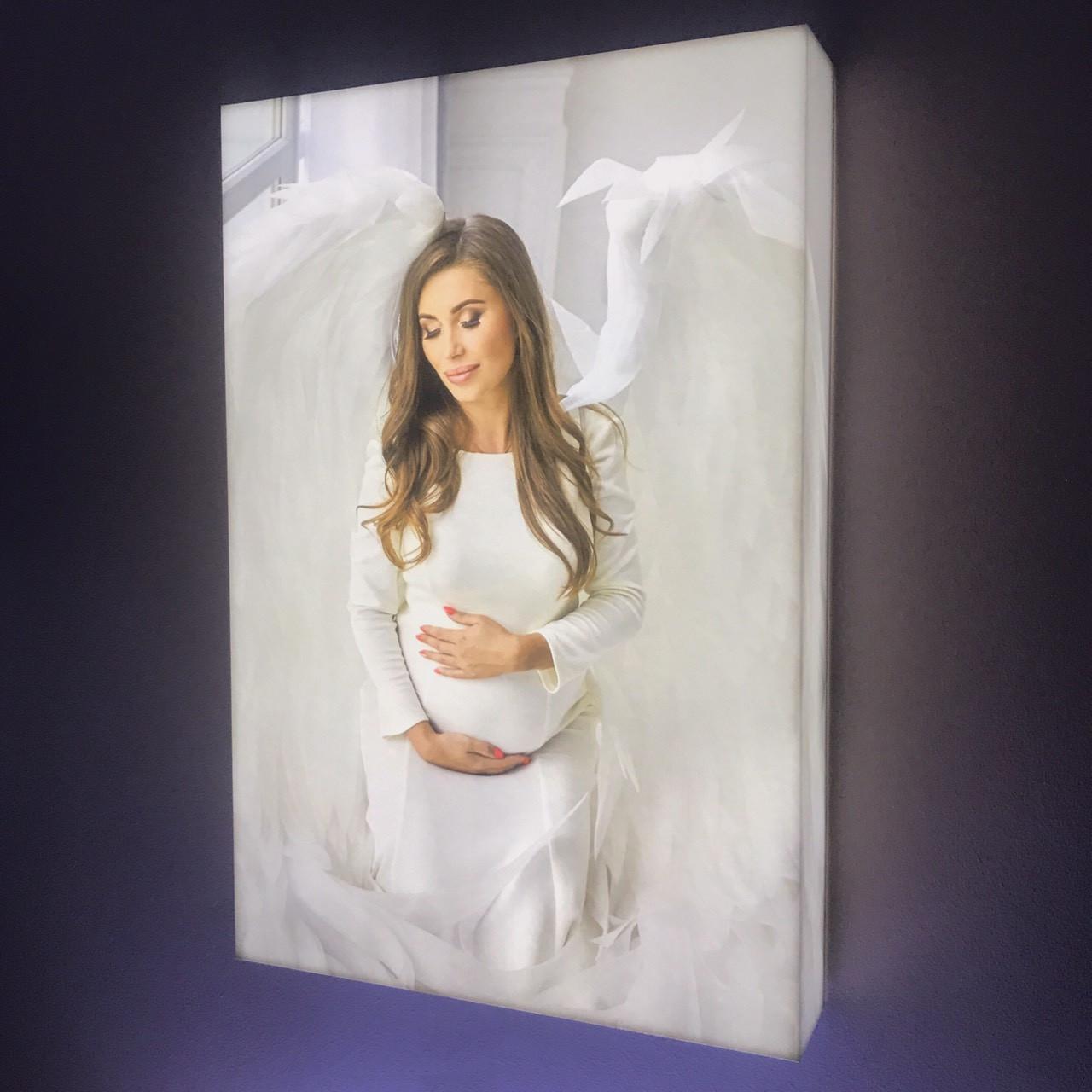 Фото светильник 45х45см - 3D ( светящиеся борта)