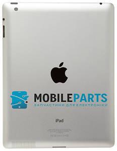 Оригинальная Задняя Панель Корпуса (Крышка) для Apple iPad 3 A1416 (версия Wi-Fi) silver (Серебристая)