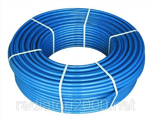 Труба полиэтиленовая синяя 75 PN 6