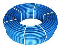 Труба полиэтиленовая синяя 75 PN 6 , фото 1