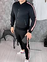 Спортивный костюм Givenchy D5737 черный утепленный
