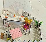 Домик кукольный для LOL LITTLE FUN с двориком, фото 8