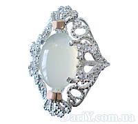 Серебряное кольцо с золотыми накладками Джамала. ea1f7539c10bb