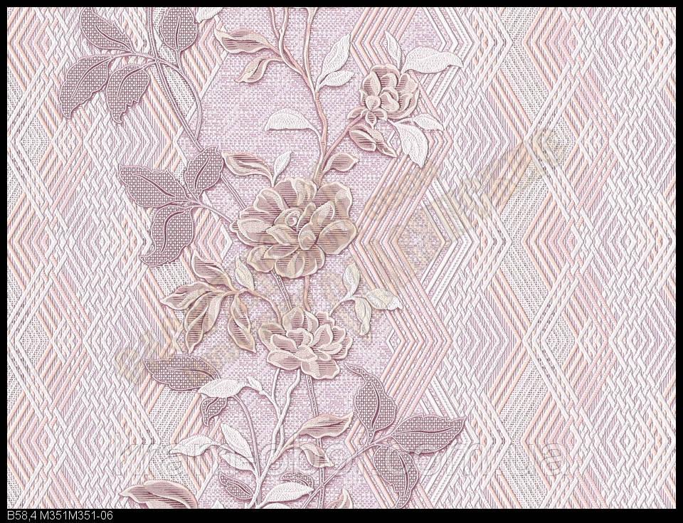 Шпалери Слов'янські Шпалери КФТБ вінілові на паперовій основі 10 м*0,53 9В58 351-06