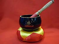 Поющая чаша Тибета  разных цветов диаметром 10 см