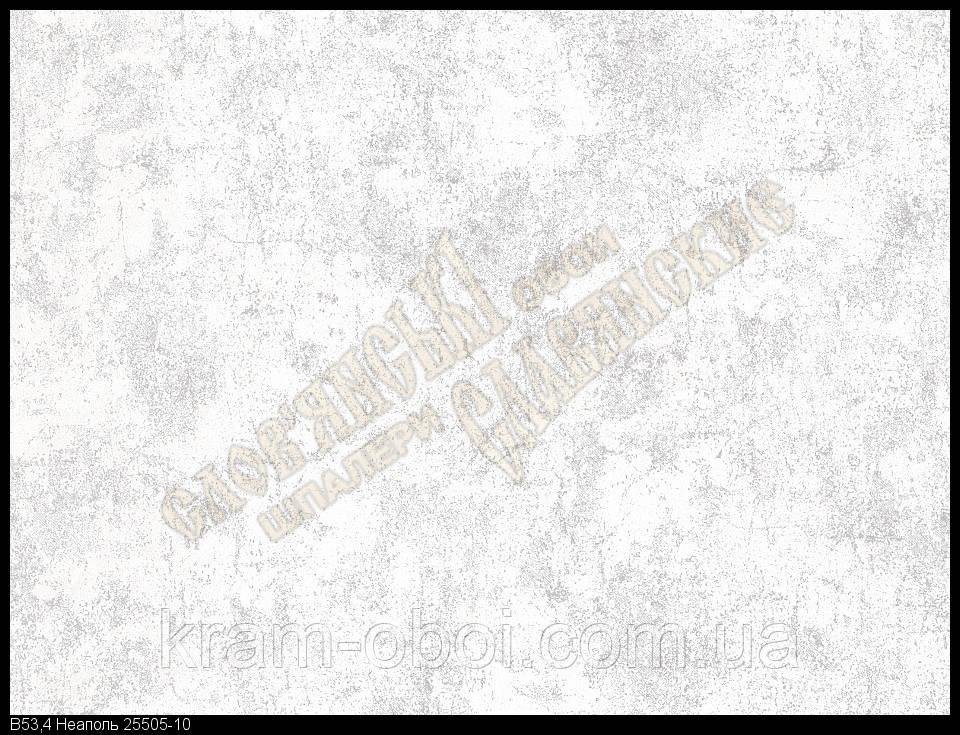 Шпалери Слов'янські Шпалери КФТБ вінілові на паперовій основі 10 м*0,53 9В53 Неаполь 2 5505-10
