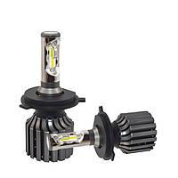 Лампа светодиодная H4 для автомобиляBRISMA (ближний и дальний в одном). Супер-яркие! Гарантия 1 год