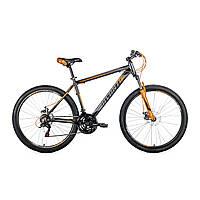 """Велосипед Avanti Smart 27,5"""" черно-оранжевый"""