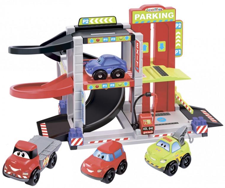 Конструктор Ecoiffier Городской паркинг (003043)