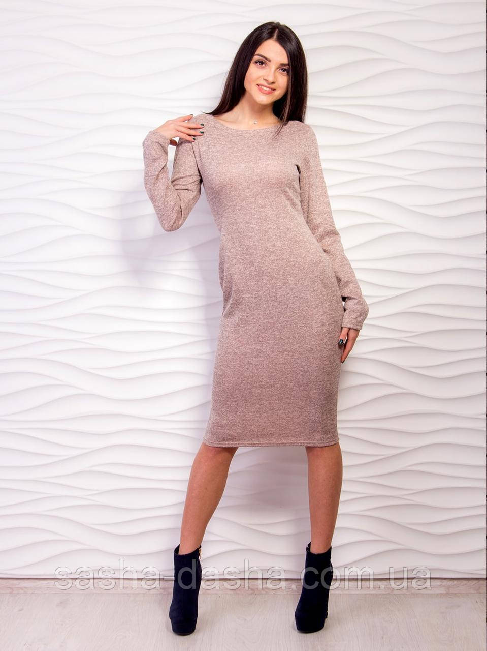 01c2c73dd8f Трикотажное платье футляр миди. - Саша и Даша. Интернет-магазин детских  товаров