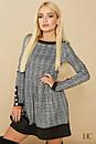 Клетчатое платье с пышной юбкой 31plt1891, фото 3