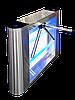 Турникет-трипод GALAXY, шлифованная нержавеющая сталь  AISI 304, столешницы из нж стали