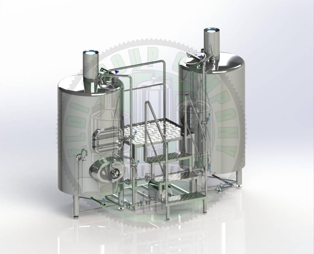 Мини пивоварни на 300 литров самодельный змеевик для самогонного аппарата