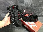 Мужские кроссовки Nike Air Max 95 (черно-красные), фото 4