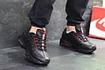 Мужские кроссовки Nike Air Max 95 (черно-красные), фото 6