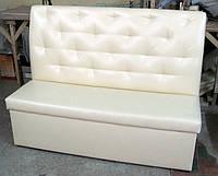 Офисный диван с втяжками и высокой спинкой, фото 1