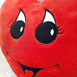 Подушка Сердце (девочка) 34 см, фото 3