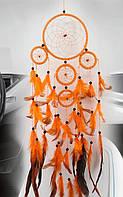 Оберег ловец снов оранж, фото 1