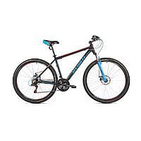 """Велосипед Avanti Sprinter 27,5"""" черно-сине-красный"""