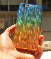 Переливающийся синий чехол для Iphone 6+ , фото 1