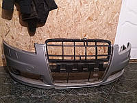 Бампер передний серый Audi A6-C6 2006