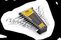 Набор ключей рожково-накидных Cтандарт (6-22мм) 12шт