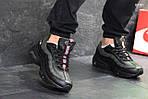 Мужские кроссовки Nike Air Max 95 (черно-зеленые), фото 2