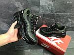 Мужские кроссовки Nike Air Max 95 (черно-зеленые), фото 5