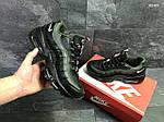 Мужские кроссовки Nike Air Max 95 (черно-зеленые), фото 6