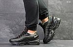 Мужские кроссовки Nike Air Max 95 (черно-зеленые), фото 4