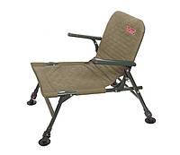 Карповый стульчик с подлокотниками большой